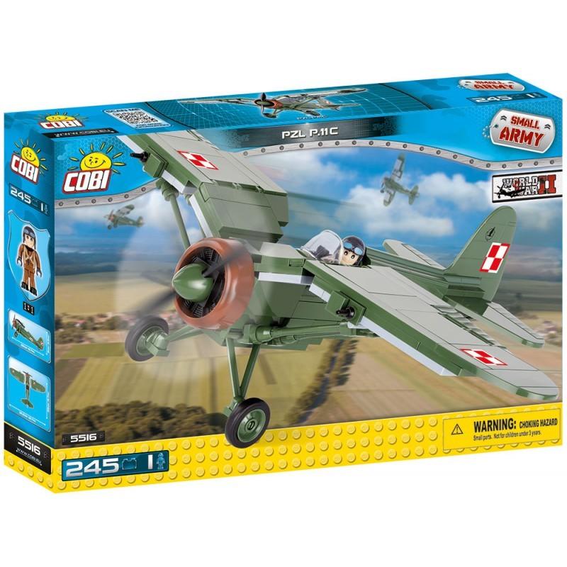 COBI - 5516 Small Army II WW PZL P-11 c