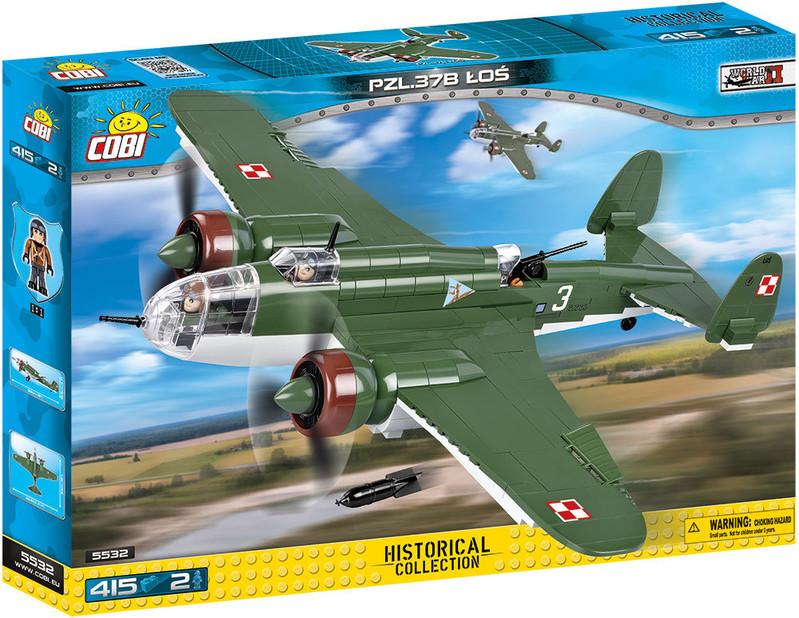 COBI - 5532 Small Army II WW PZL-37b Los