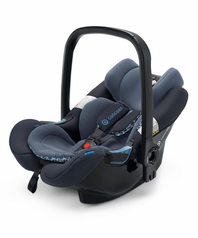 CONCORD - Autosedačka Air.Safe + Clip Deep Water Blue 0-13kg 2017
