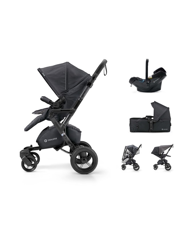 CONCORD - Mobility Set Neo Air.Safe+Scout Cosmic Black Concord 2017