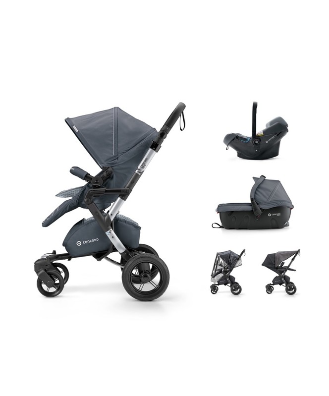CONCORD - Travel Set Neo Air.Safe+Sleeper Steel Grey Concord 2017