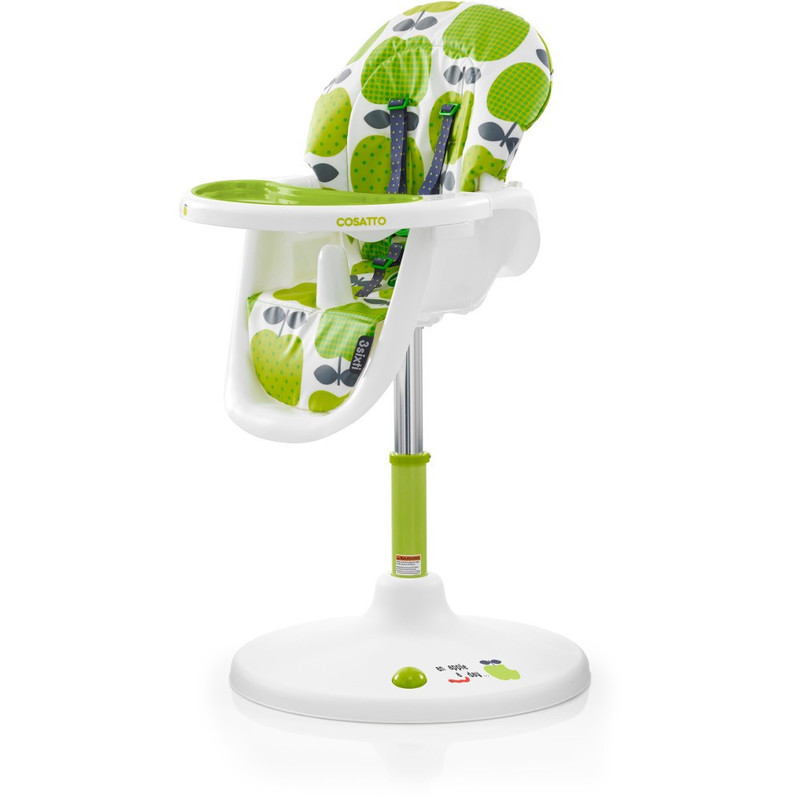 COSATTO - Židle na krmení 3Sixti2 Highchair Hapi Apples 2 2017