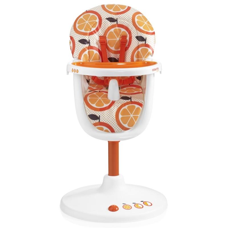 COSATTO - Židle na krmení 3Sixti2 Highchair (Orange Squash) 2016