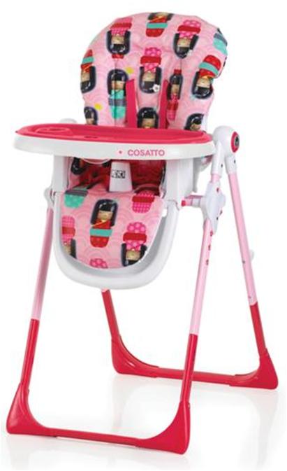 COSATTO - Židle na krmení Noodle 2016 - kokeshi SMILE