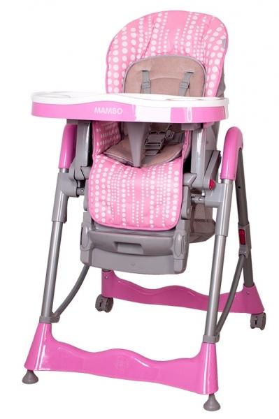 COTO BABY - Jídelní židlička Mambo 2019 - Pink bubble