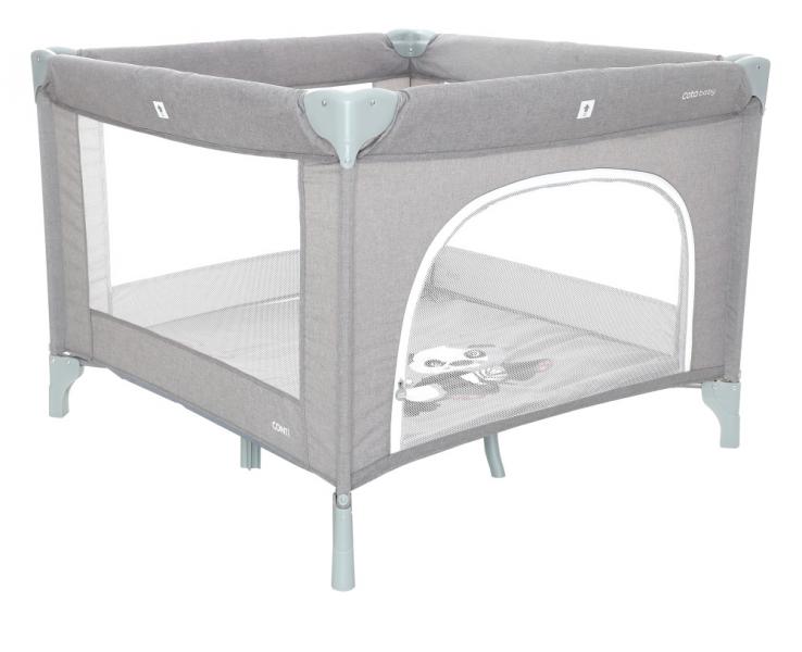 COTO BABY - Skládací ohrádka Conti - světle šedá/melange - PANDA