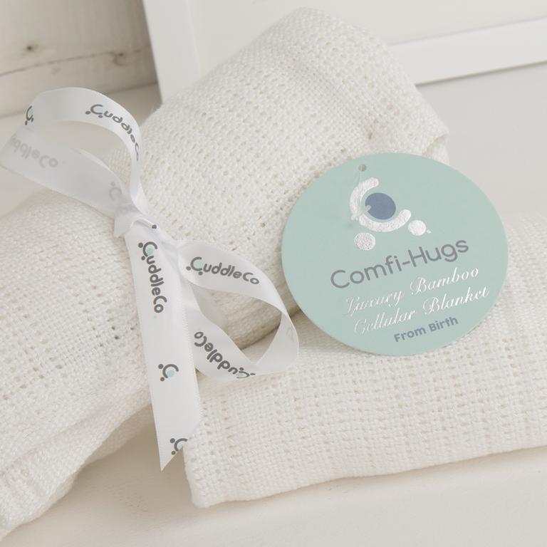 CUDDLECO - Letní deka, Bright White