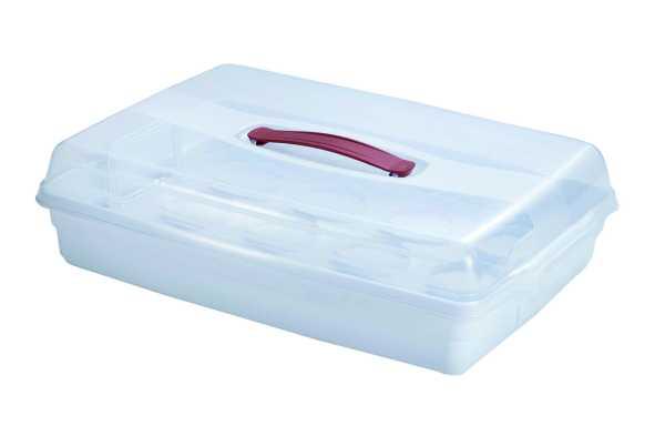 CURVER - Hranatý box, bílý