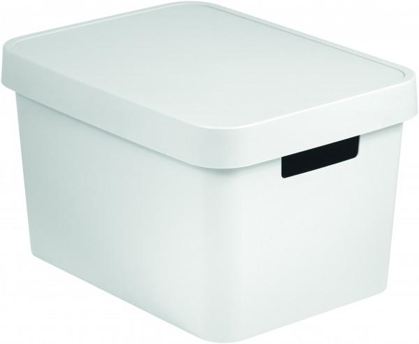 CURVER - Box Infinity s poklopem 17 l - bílý