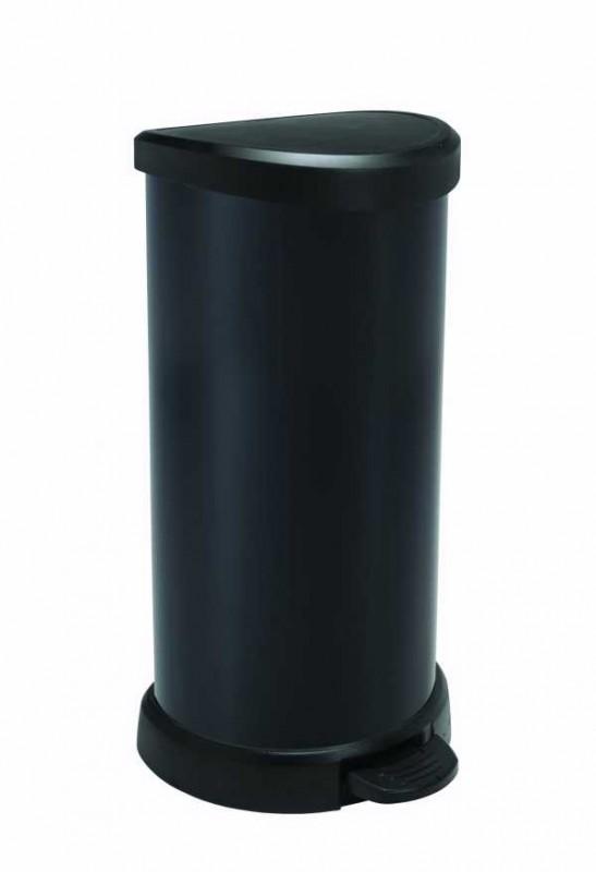 CURVER - Odpadkový koš Decobin s pedálem 40 l - černý
