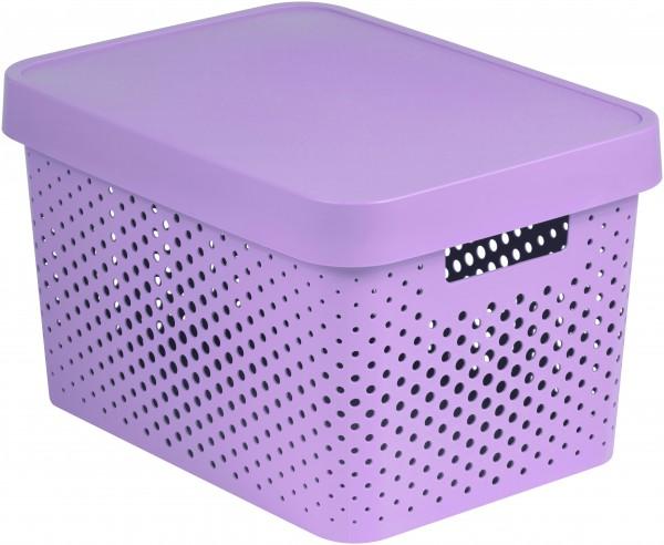 CURVER - Plastový box s víkem 17 l
