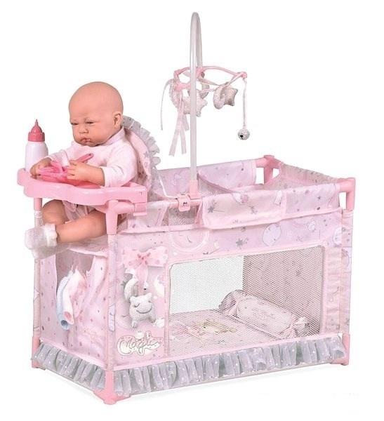 DECUEVAS TOYS - 53134 Moje první postýlka pro panenky s doplňky Magic maria 2020