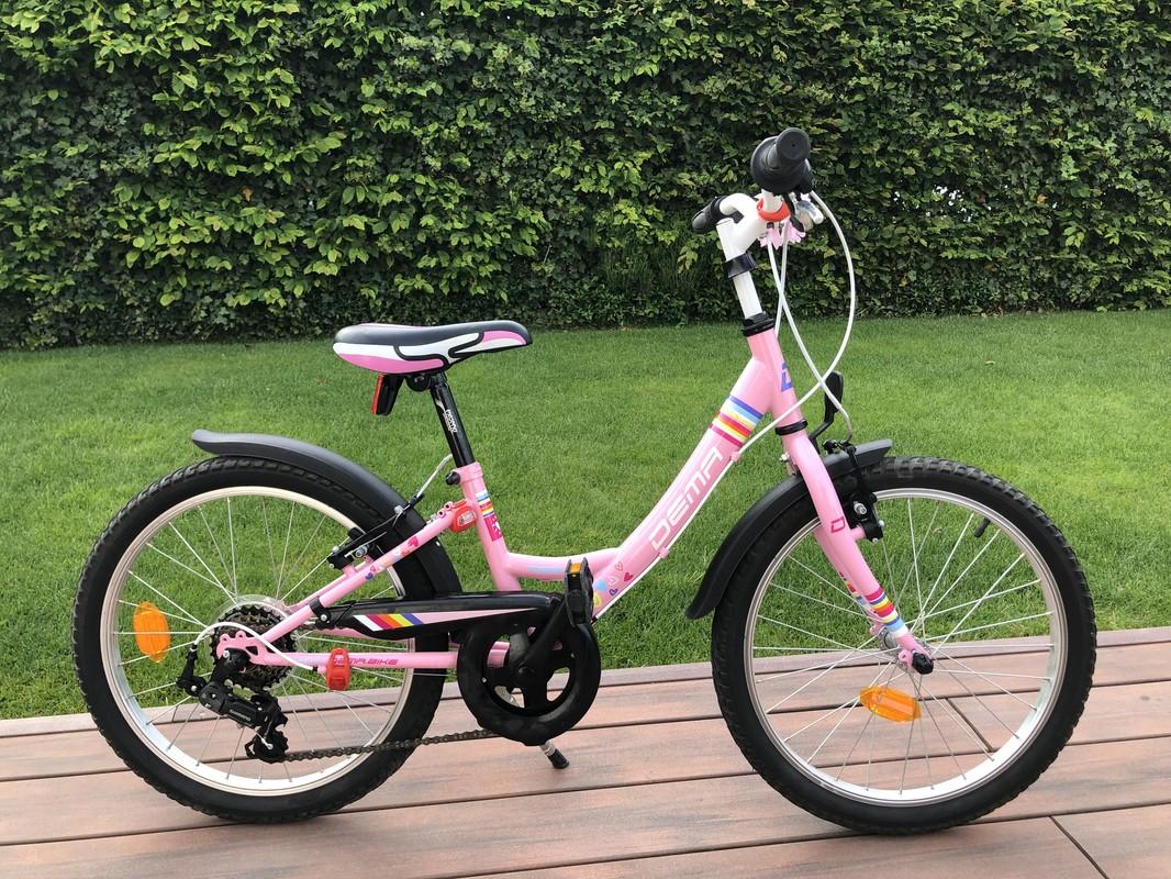 8b84282c24 DEMA - Dětské kolo Aggy 20 6sp pink
