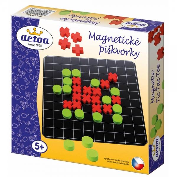 DETOA - Piškvorky magnetické cestovní