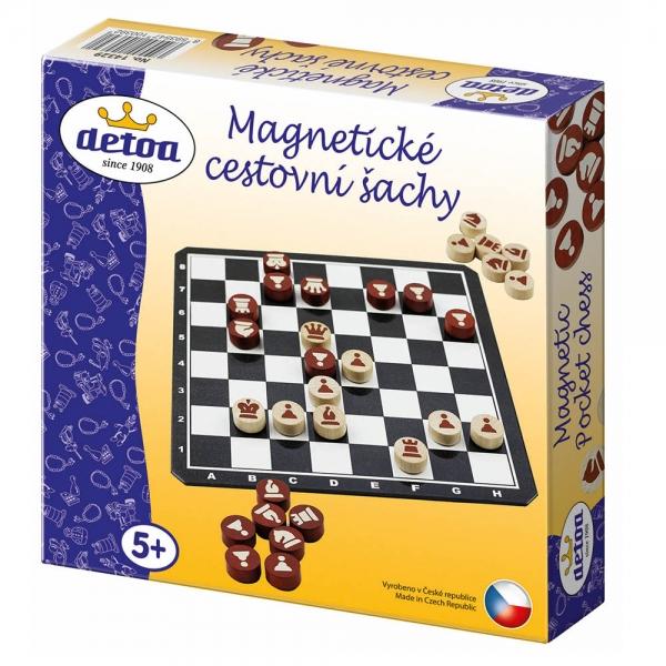 DETOA - Šachy magnetické cestovní