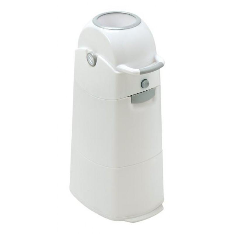 Diaper CHAMP - Koš na pleny Medium stříbrný