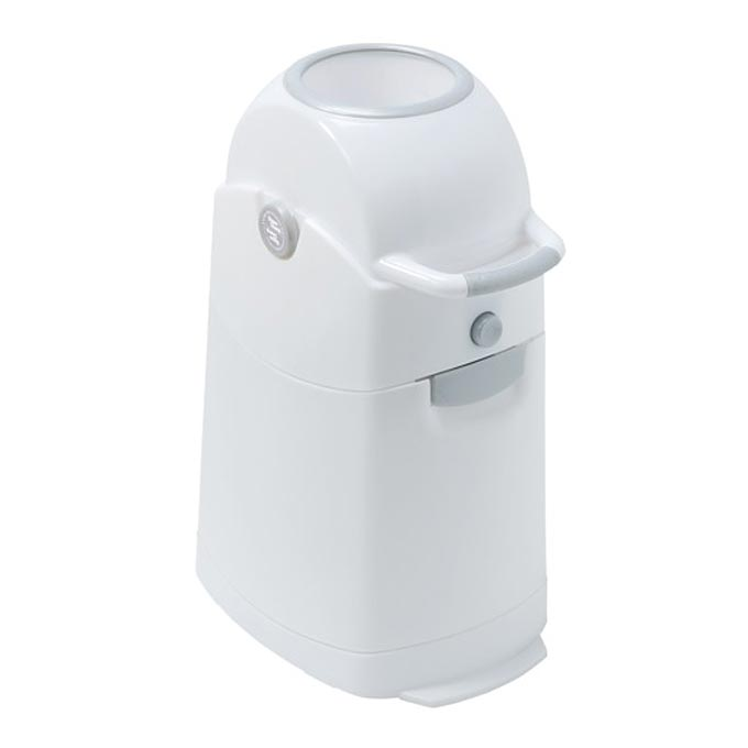 Diaper CHAMP - Koš na pleny Regular stříbrný
