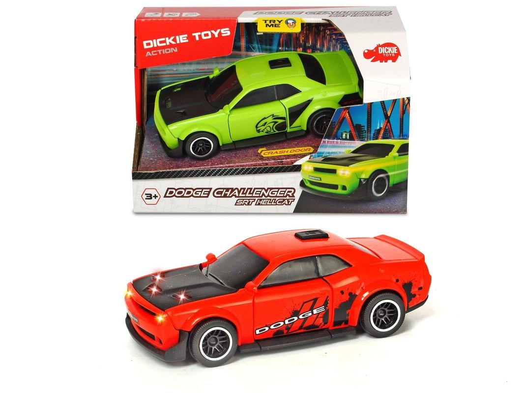 DICKIE - Auto Dodge Challenger Srt Hellcat, 2 druhy