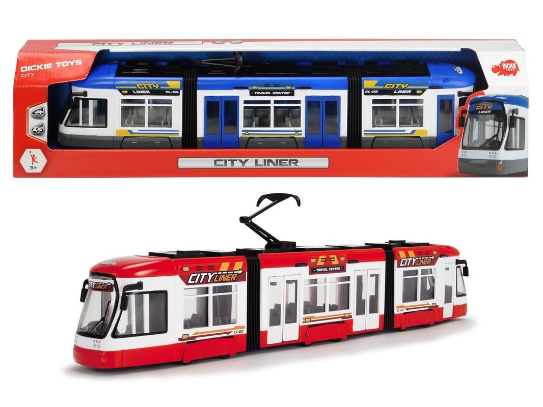 DICKIE - Tramvaj 46 Cm, 2 Druhy