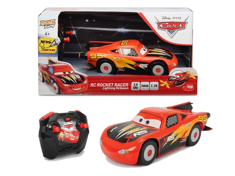 DICKIE - RC Cars Blesk McQueen Rocket Racer 1:24, 2kan