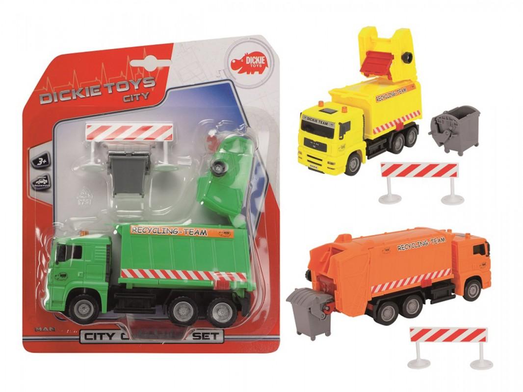 DICKIE - Úklidové Vozy City Cleaner, 22cm