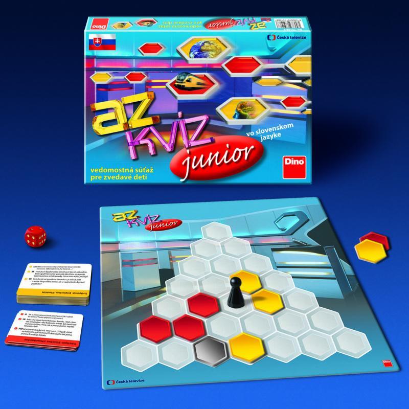 DINO - Az Kvíz Junior Sk Dětská Hra