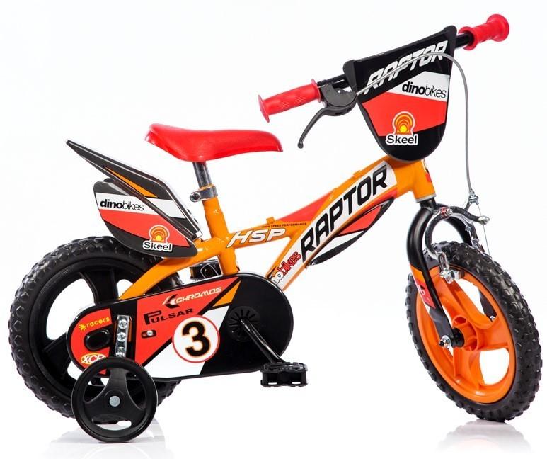 """DINO BIKES - Dětské kolo 12 """"612L Raptor"""