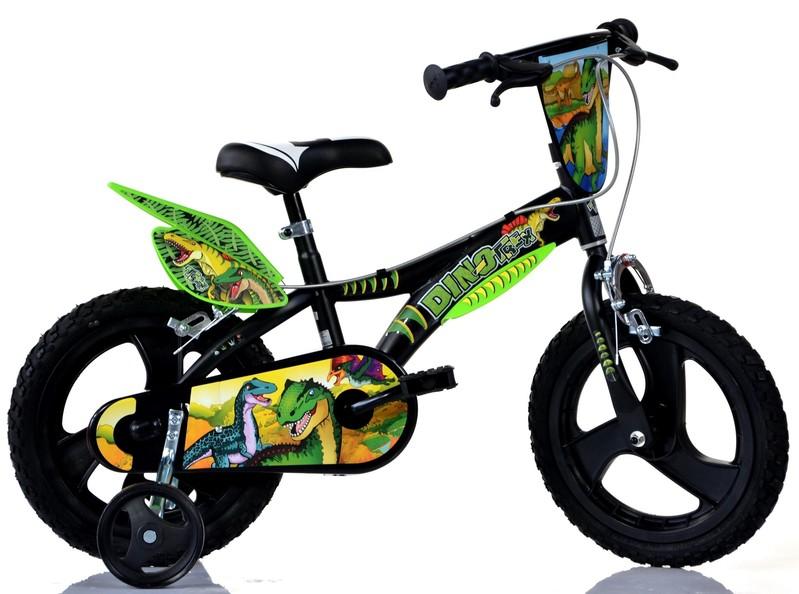 """DINO BIKES - Dětské kolo - 14 """"Dino 614LDS T. Rex"""