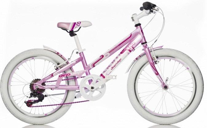 """DINO BIKES - Dětské kolo 20 """"1020G - AURELIA Game Kit růžový"""