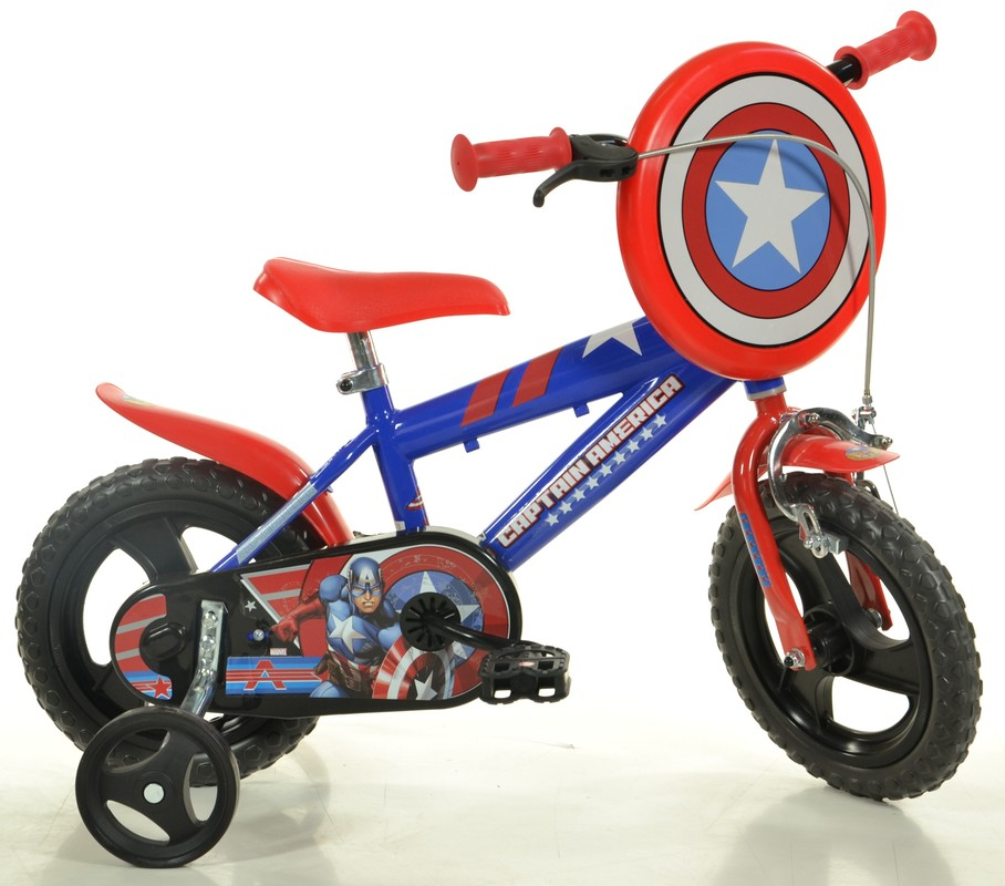 "DINO BIKES - Dětské kolo 412ULCA 12 ""Captain America"
