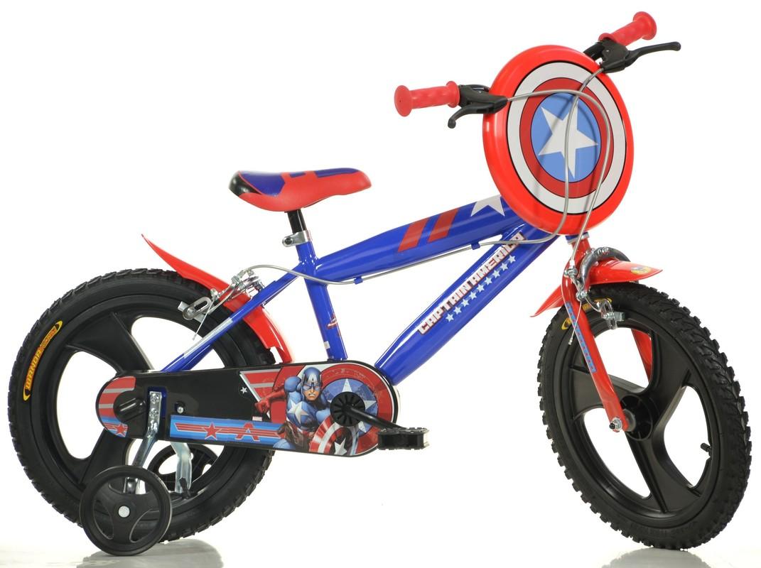 "DINO BIKES - Dětské kolo 414ULCA 14 ""Captain America"