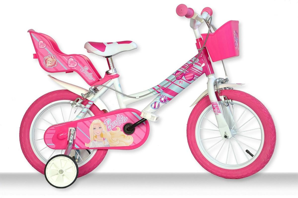 DINO BIKES - Dětské kolo Dino 166RBAB Barbie se sedačkou pro panenku a košíkem - 16