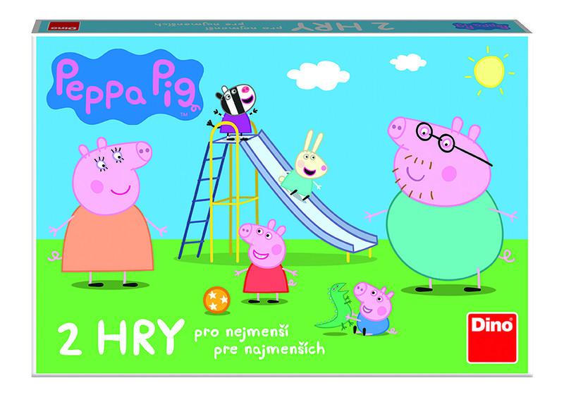 DINO - Peppa Pig Pojď Si Hrát A Skluzavky Dětská Hra