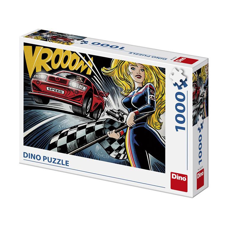 DINO - Pop Art - Závody 1000 Puzzle Nové