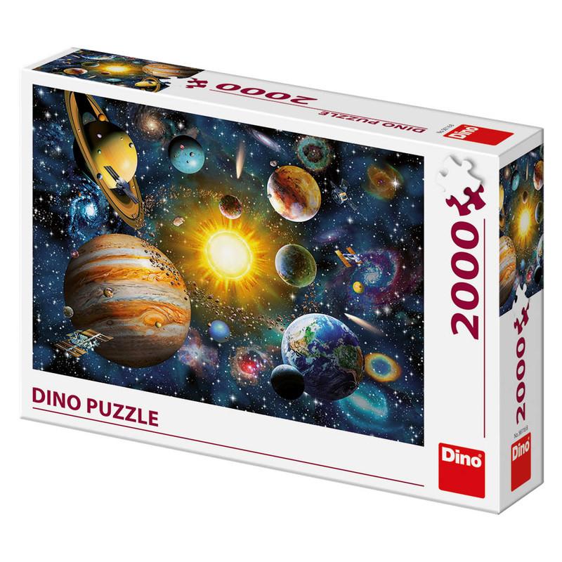 DINO - Sluneční soustava 2000 dílků