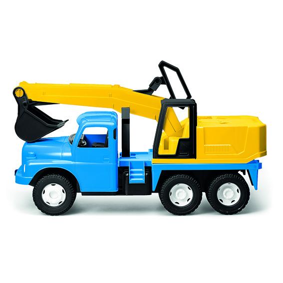 DINO - Tatra 148 Bagr 72 Cm Modrožlutý