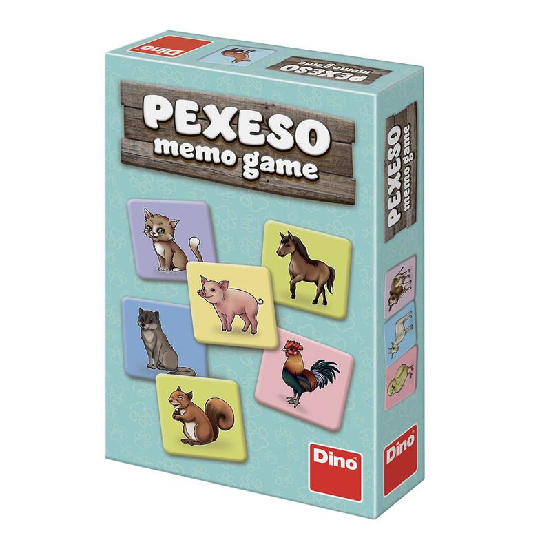 DINO - Zvířátka pexeso