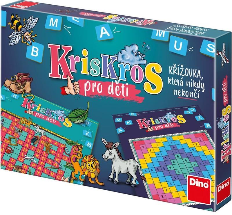 DINOTOYS - KRIS KROS DĚTSKÝ Dětská hra - CZ