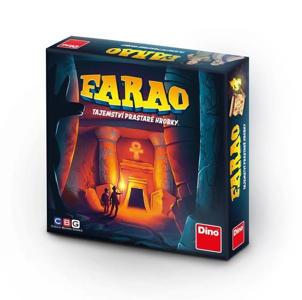 DINOTOYS - Společenská hra Farao tajemství prastaré hrobky