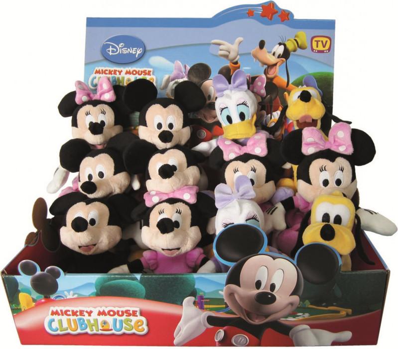 DINOTOYS - Walt Disney - Plyš Mickey Mouse 20cm, asort