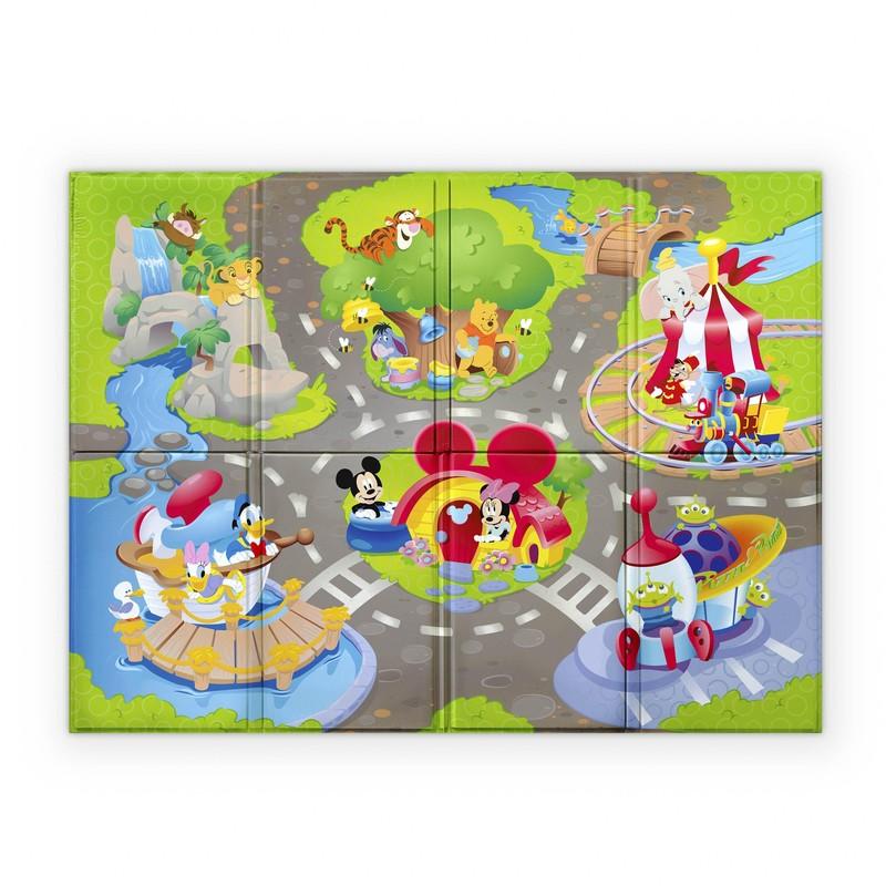 DISNEY BABY - Podložka pěnová skládací Disney Pals 120 x 89cm 6m+