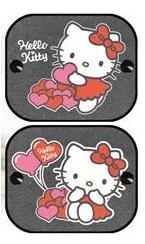 DISNEY - Disney Stínítko do auta boční - Hello Kitty