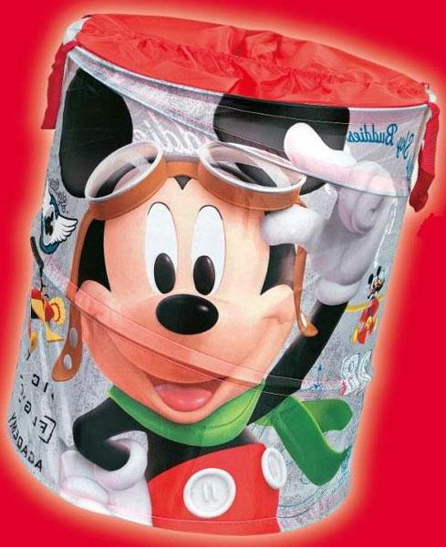 DISNEY - Koš na hračky - Mickey (kruh)