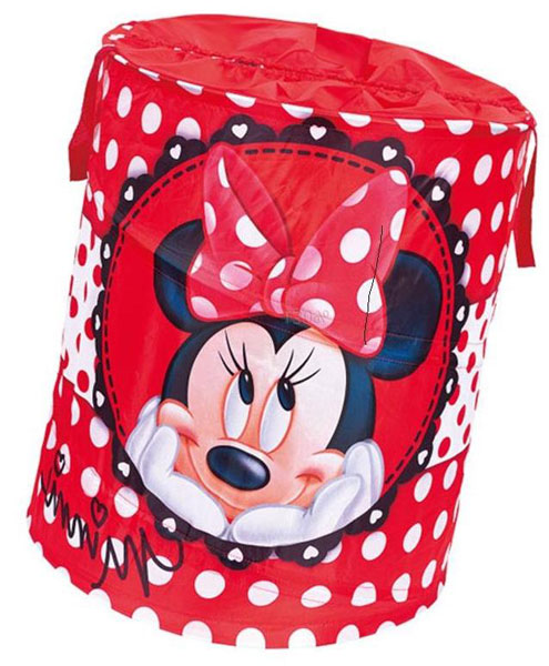 DISNEY - Koš na hračky - Minnie (kruh)