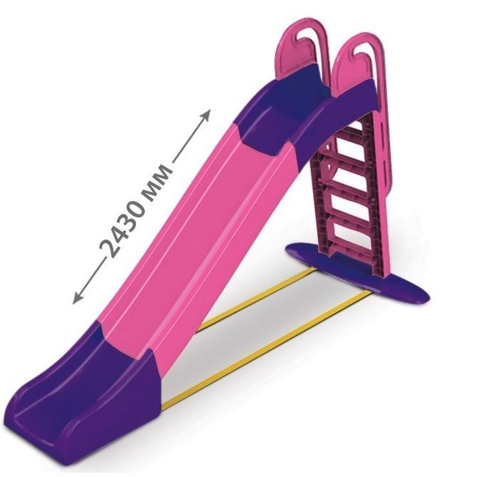 DOLONI - Skluzavka velká 243 cm růžovofialová