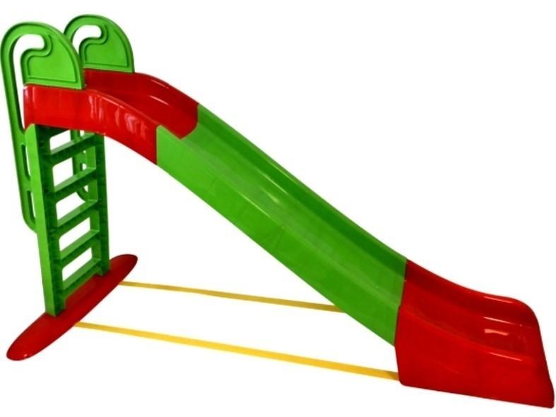 DOLONI - Skluzavka velká 243 cm zelenočervená