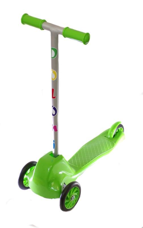 DOLONI - Tříkolová koloběžka zelená