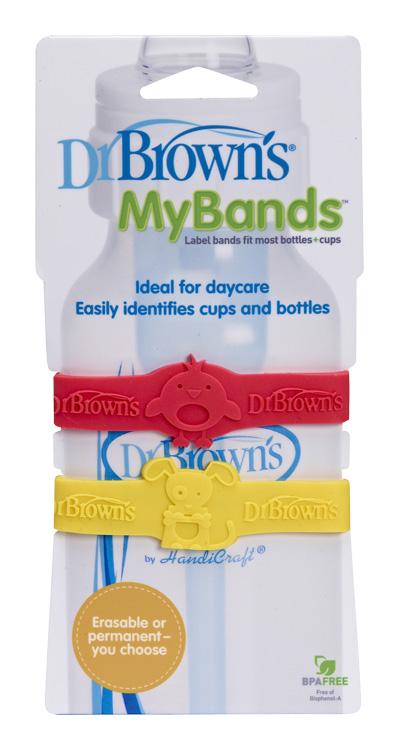 DR.BROWNS - Protiskluzové pásky MyBands na láhve (AC022)