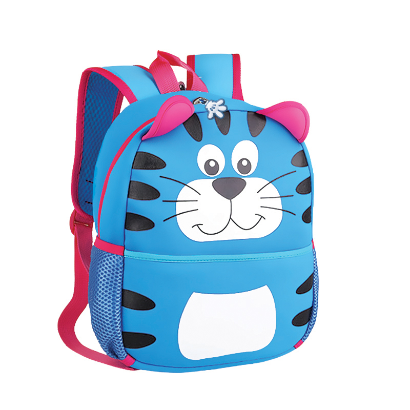 EASY - Batoh neoprenový - dětský tygr modrý