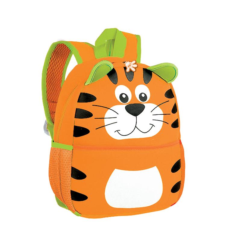 EASY - Batoh neoprenový - dětský tygr žlutý
